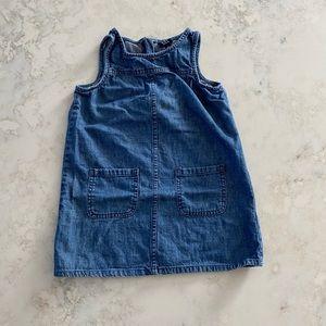 Gap denim shift dress